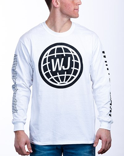 2020 LS Tour Tee White